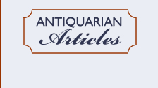 Antiquarian Articles